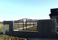 Ogrodzenie Kute Brama Skrzydlwa Ciekawy Wzór Mielec Tarnów Dębica